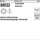 Edelstahl A2 25,0 f/ür M24 100 St/ück Sicherungsscheiben Typ S