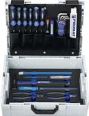 Werkzeugsortiment 44-tlg. Handwerkersort. Check-Tool Einlage in L-BOXX PROMAT