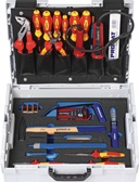Werkzeugsortiment 26-tlg. Sort. Elektriker 2farbige Einlage in L-BOXX PROMAT