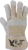 Handschuhe Adler-C Gr.10,5 naturfarben Leder