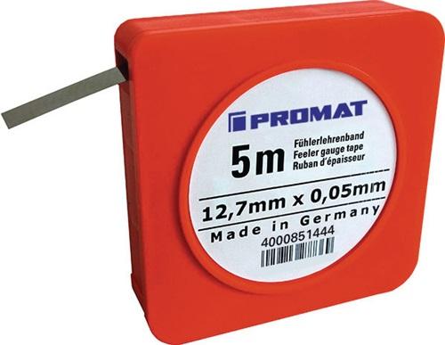 PROMAT  Düsenlehre  0-5 mm  Ablesung 0,1 mm