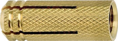 200 apolo MEA Nageldübel NP 5mm x 25mm vormontiert Flachbund galvanisch verzinkt
