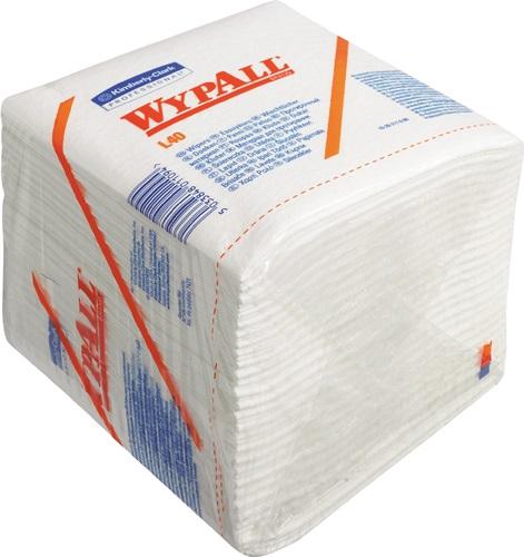 WYPALL Wischtuch X60 6034 Wypall 320 x 310mm 1-lagig weiß 12 Beutel x 76 Tücher