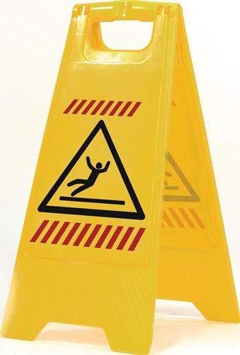 Warnschildaufsteller