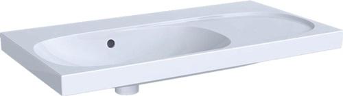 Geberit PARIS Waschtisch mit Hahnloch und Überlauf 60 x 47 cm weiß 004260000