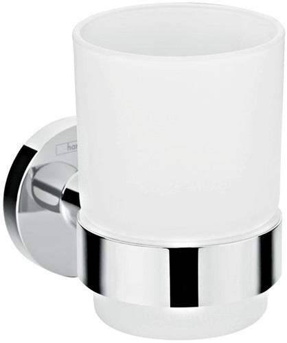 Keuco ALEA Kristallglas mattiert für Glashalter einzeln 00750009000