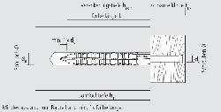 Normaldübel FL 6-60 6x60mm 100St.//VE,27VE//Umkarton CELO