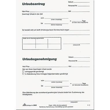 Urlaubsantrag Excel Vorlage Zum Herunterladen 10