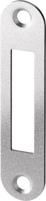 BKS Schließblech Flachschließblech Stulp 20mm abgerundet VA