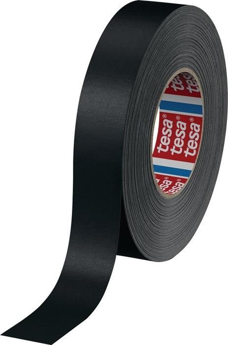 Tesa 04651-00506-00 Gewebeband 4651 Premium 30 mm x 50 m schwarz
