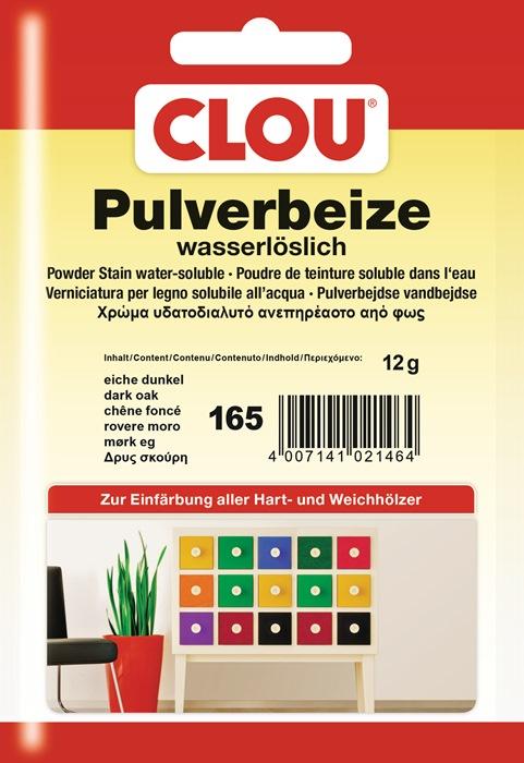 CLOU Pulverbeize 173 Teak 12 g 29,17 € // 100 g