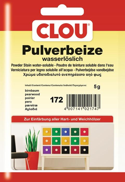 pulverbeize 172 birnbaum pulver wasserl slich 5 g beutel g nstig kaufen im online shop von. Black Bedroom Furniture Sets. Home Design Ideas