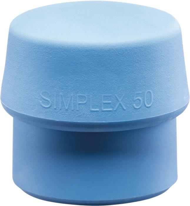 Halder Schonhammer Simplex  50 mm Gummi