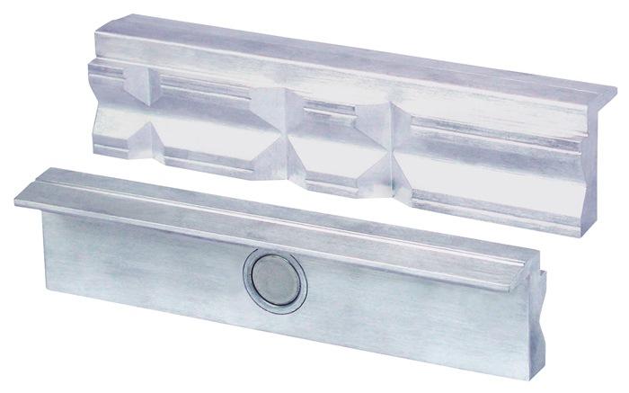 1 Paire Protection Mors pour étau 2 pièces 125 mm aluminium mors avec aimant