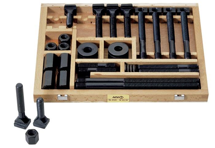 tecnomag bozen s dtirol spannschraubensatz m12x12 f t nuten amf tecnoshop. Black Bedroom Furniture Sets. Home Design Ideas