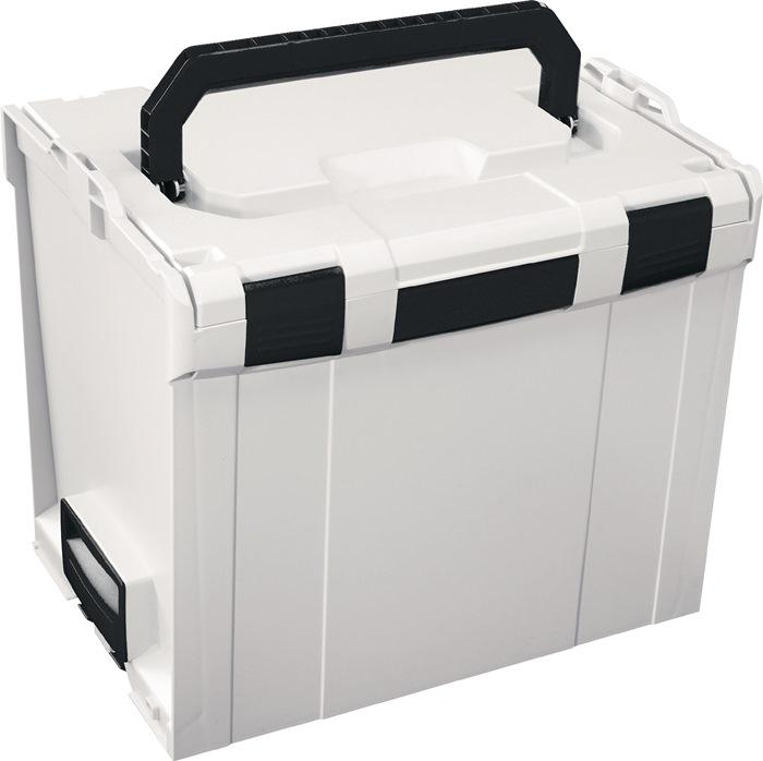B.378xT.296xH345mm Farbe Grau,weiß,schwarz L BOXX 374
