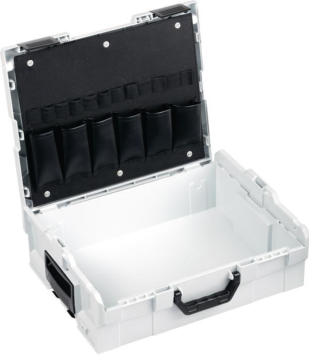 werkzeugkoffer l boxx l boxx leer mit deckeleinlage. Black Bedroom Furniture Sets. Home Design Ideas