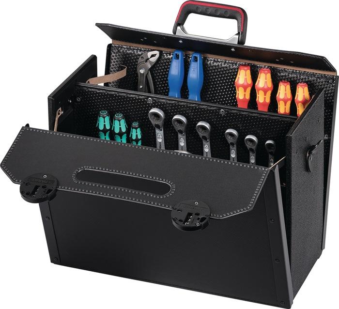 PARAT Ringkappen aus Rindleder schwarz für Werkzeugtasche