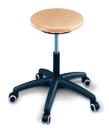 werkzeug j ger gmbh online shop drehhocker mit rollen buche natur sitzh henverstellung 420 550 mm. Black Bedroom Furniture Sets. Home Design Ideas