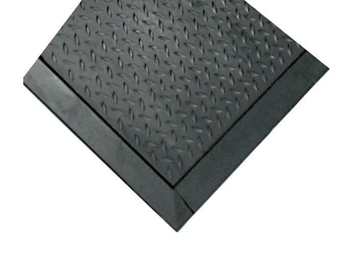 Fußbodenbelag Schwarz ~ Arbeitsplatz bodenbelag mittelstück l780xb710xs14mm schwarz