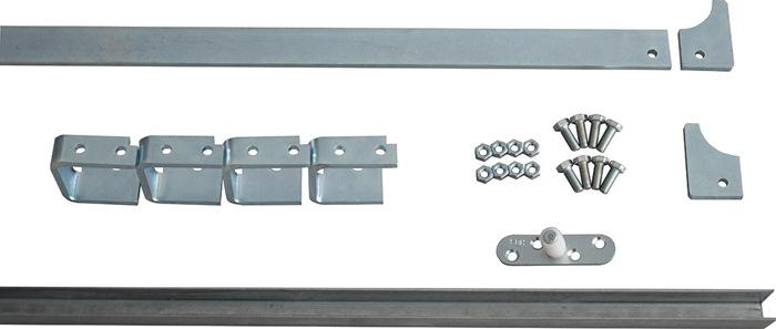 HEINRICH BETZ /& SÖHNE Schiebetorrolle Stahl verzinkt 130 kg 140 mm 14//17 mm