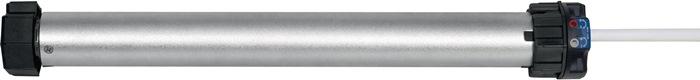 21601026 RolloTube Basis Short Version Medium 10 Nm Achtkantwelle SW 60 Kabellä