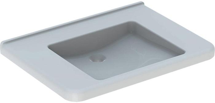 Geberit PARIS Waschtisch ohne Hahnloch 60 x 47 cm weiß 004261000