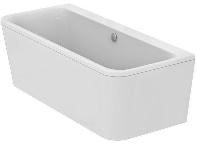 Ideal Standard D-Form-Badewanne Tonic II mit Ablauf 1800 x 800 x 490 ...